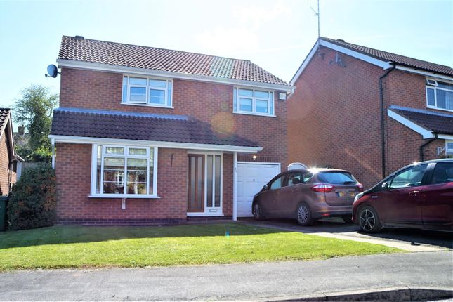 Thumbnail Detached house for sale in Sutherington Way, Anstey, Leicester