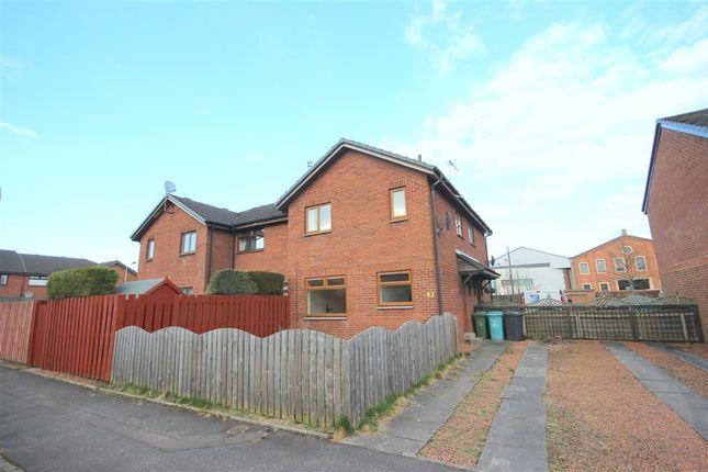 Thumbnail End terrace house for sale in Forge Drive, Coatbridge