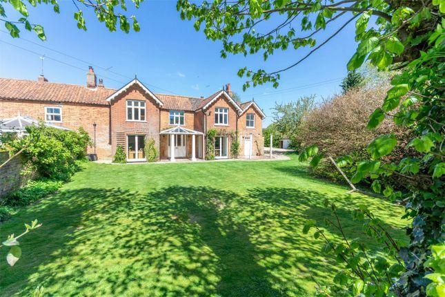 Thumbnail Semi-detached house for sale in Cross Street, Harpley, King's Lynn