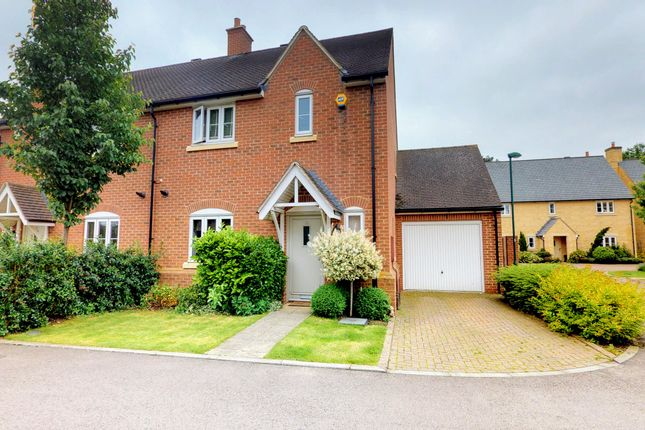 Thumbnail Semi-detached house for sale in Pixey Close, Yarnton, Oxford, Oxfordshire