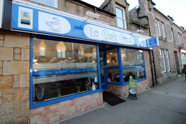 Thumbnail Restaurant/cafe for sale in Le Café Coull, 25 West Church St, Buckie, Morayshire