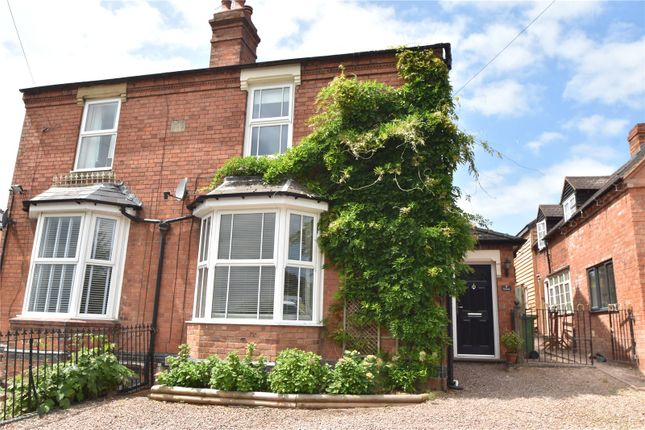 Thumbnail Semi-detached house for sale in The Green, Cutnall Green, Droitwich