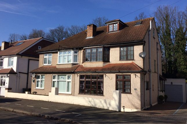Thumbnail Semi-detached house for sale in Victoria Avenue, Wallington