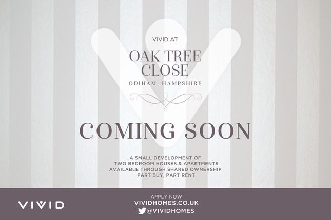 Thumbnail Flat for sale in Oak Tree Close, Farnham Road, Odiham