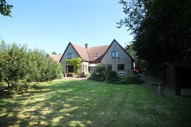 Thumbnail Detached house for sale in High Street, Longstanton, Cambridge