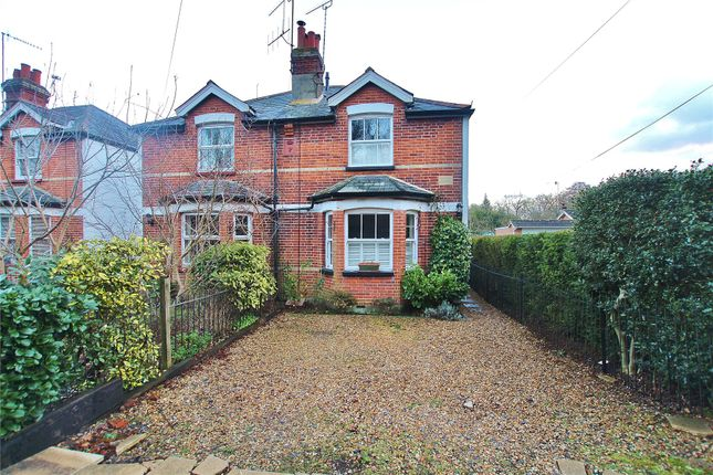 Thumbnail Semi-detached house for sale in Aldershot Road, Pirbright, Woking
