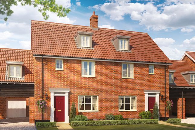 Thumbnail Semi-detached house for sale in Plot 8 Heronsgate, Blofield, Norwich, Norfolk