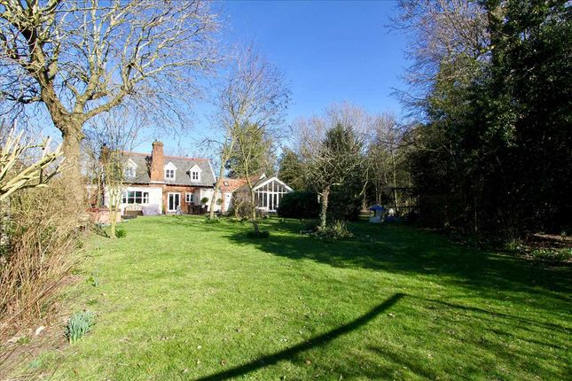 Thumbnail 3 bed detached house for sale in The Street, Wherstead, Ipswich, Suffolk