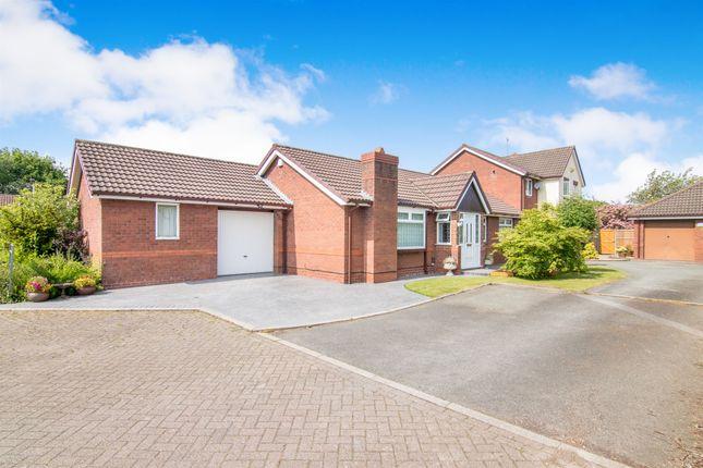 Thumbnail Detached bungalow for sale in Cornfield Close, Great Sutton, Ellesmere Port