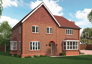 Thumbnail Detached house for sale in The Broughton, Leverstock Green, Hemel Hempstead, Hertfordshire