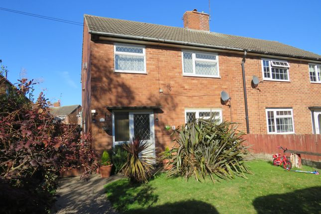 Thumbnail Semi-detached house for sale in Salterford Avenue, Calverton, Nottingham