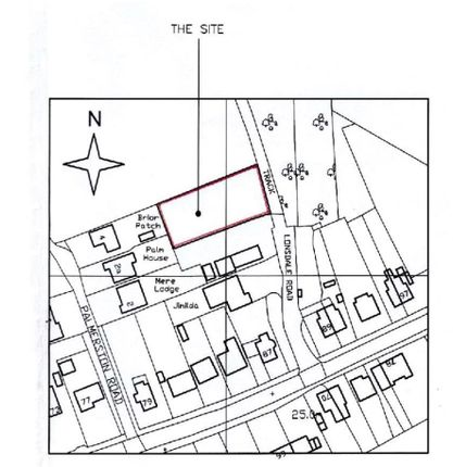 Thumbnail Land for sale in Lonsdale Road, Thorpe-Le-Soken, Clacton-On-Sea