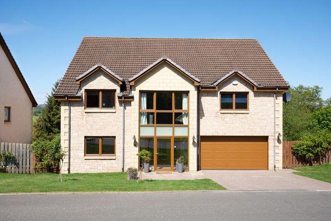 Thumbnail Detached house for sale in 18 Halmyre Loan, Romanno Bridge, West Linton