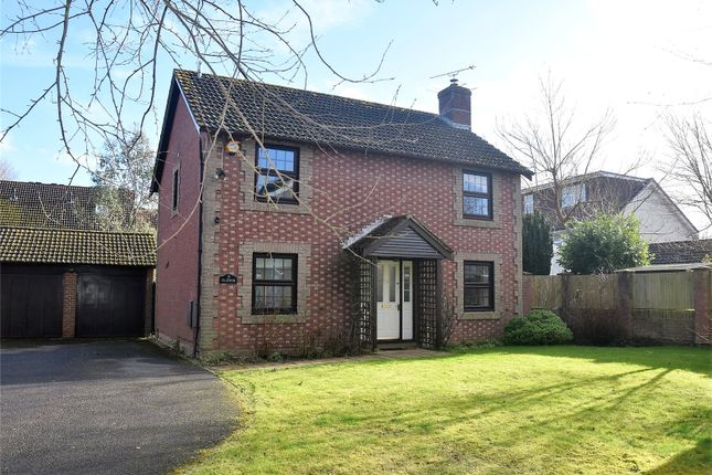 Thumbnail Detached house for sale in Pond Road, Bramley, Tadley, Hampshire