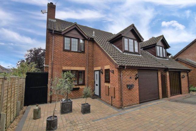 Thumbnail Detached house for sale in Davis Gardens, College Town, Sandhurst, Berkshire