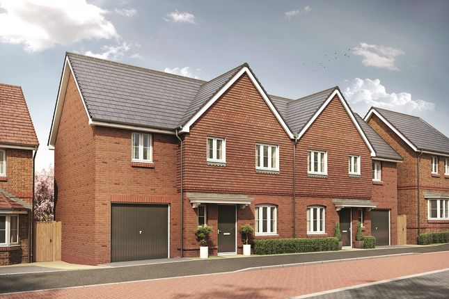 Thumbnail Semi-detached house for sale in Parsons Way, Tongham, Surrey