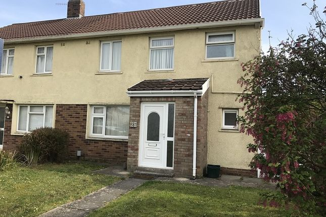 Thumbnail Semi-detached house to rent in Western Avenue, Port Talbot, Neath Port Talbot.