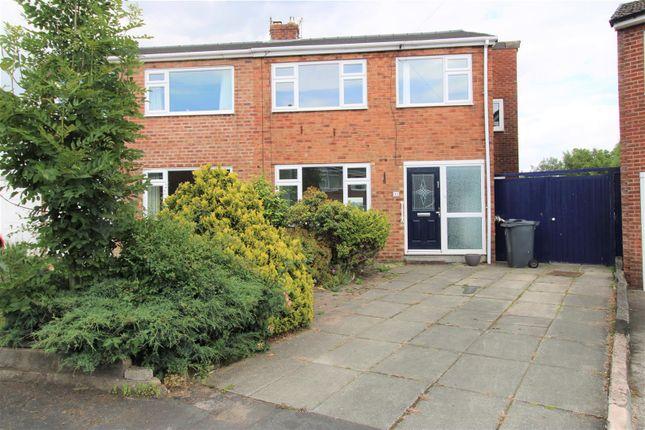 Thumbnail Semi-detached house to rent in Weaver Avenue, Burscough, Ormskirk