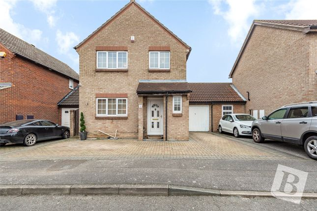 Thumbnail Link-detached house for sale in Sorrel Way, Northfleet, Gravesend