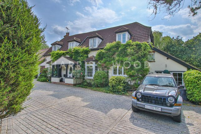 Thumbnail Detached house for sale in New Road, Lambourne End, Romford