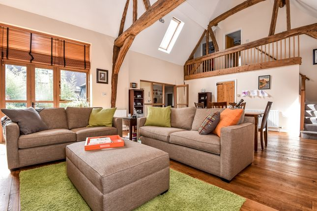 Thumbnail Barn conversion to rent in Wherwell, Andover
