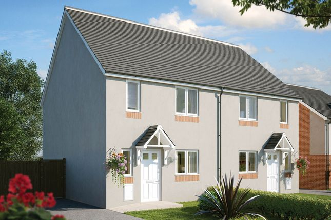 Thumbnail Semi-detached house for sale in Aberthaw Road, Newport