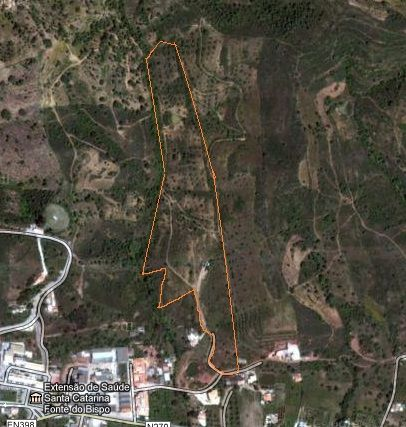 Thumbnail Land for sale in Cf277, Santa Catarina Da Fonte Do Bispo, Portugal