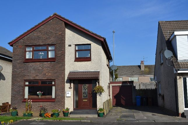 Thumbnail Detached house to rent in Coll Gardens, Dreghorn, North Ayrshire