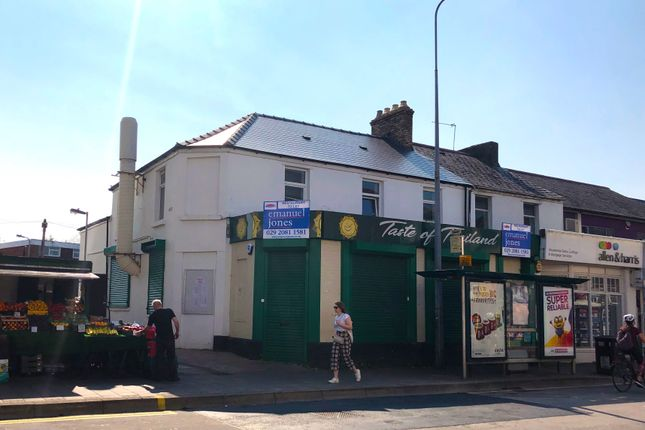Thumbnail Restaurant/cafe to let in Cowbridge Road East, Cardiff