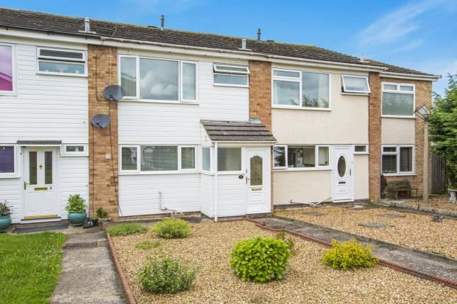 Thumbnail Terraced house for sale in Dothans Close, Great Barford, Bedford, Bedfordshire