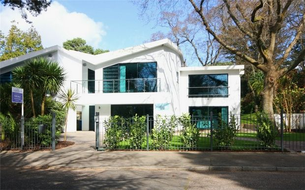 Thumbnail Detached house for sale in 1B Mount Grace Drive, Evening Hill, Poole