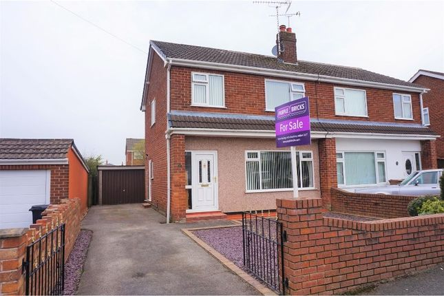 Thumbnail Semi-detached house for sale in Victoria Road, Buckley