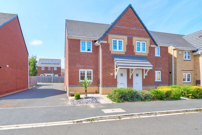 Thumbnail Semi-detached house to rent in Blencathra Close, Thornaby, Stockton-On-Tees