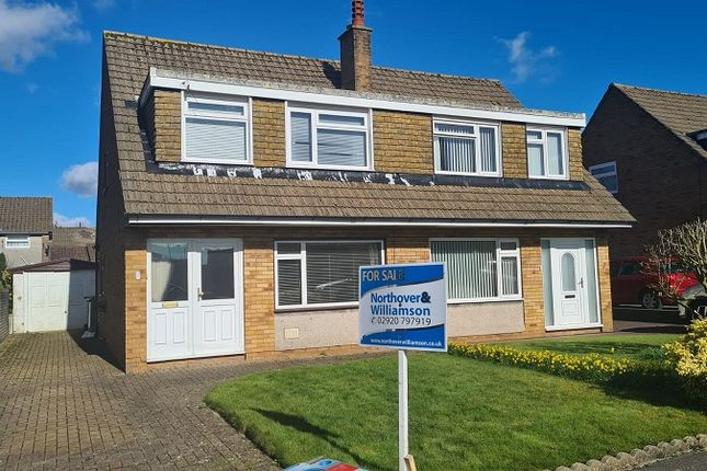 Thumbnail Semi-detached house for sale in Monkstone Rise, Rumney, Cardiff.