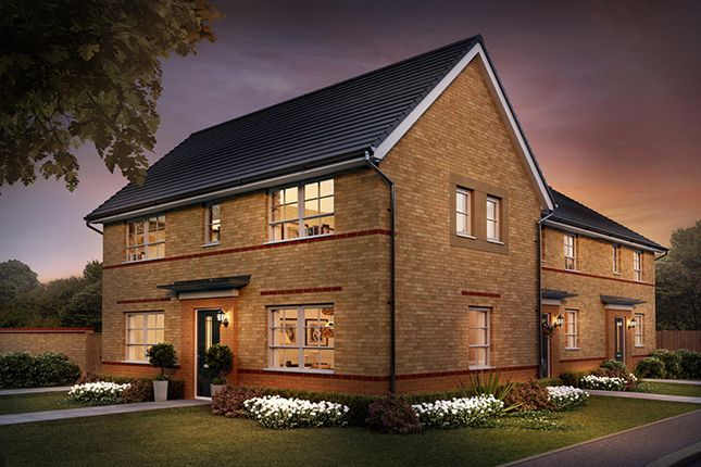 "Thumbnail End terrace house for sale in ""Ennerdale"" at Rydal Terrace, North Gosforth, Newcastle Upon Tyne"