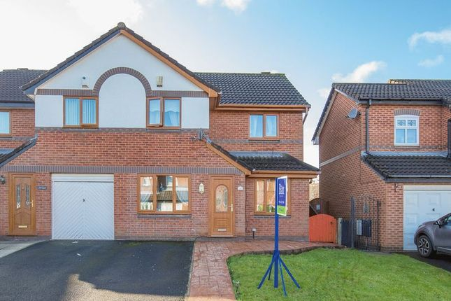 Thumbnail Semi-detached house for sale in Karen Road, Ince, Wigan