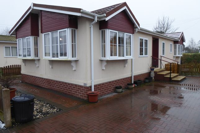 Thumbnail Mobile/park home for sale in Greenhollows Country Park, Broadfield, Southwaite, Carlisle, Cumbria