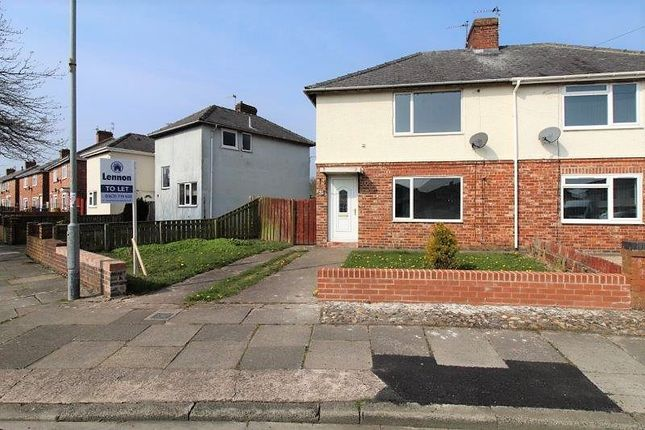 Thumbnail Semi-detached house to rent in Ninth Avenue, Blyth