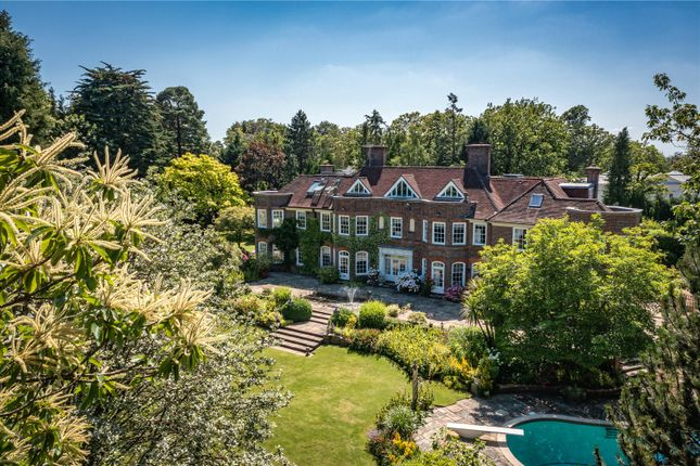 Thumbnail Detached house for sale in South Ridge, St Georges Hill, Weybridge, Surrey