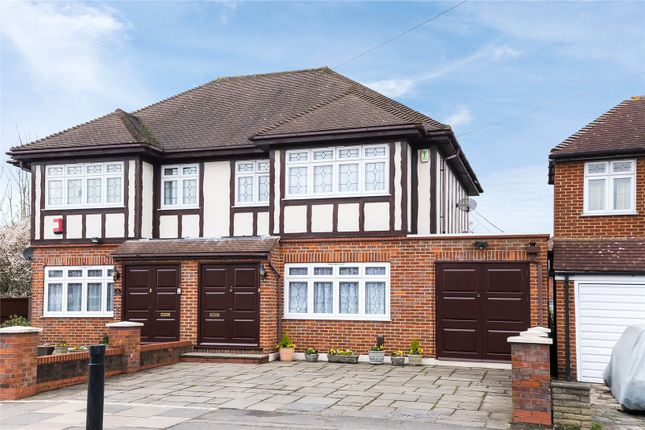 Thumbnail Semi-detached house for sale in Wemborough Road, Stanmore