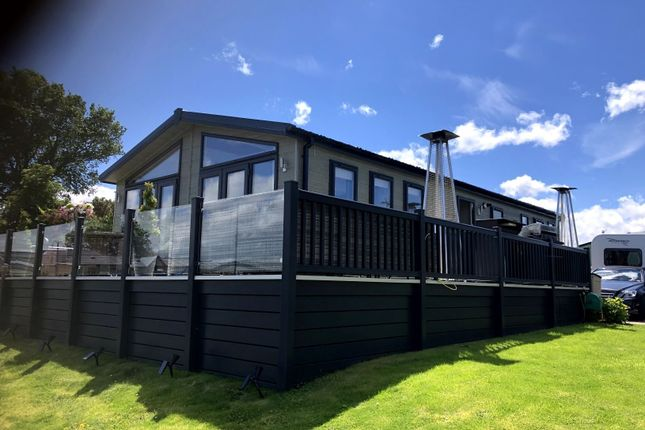 Thumbnail 2 bed lodge for sale in Conwy, Conwy