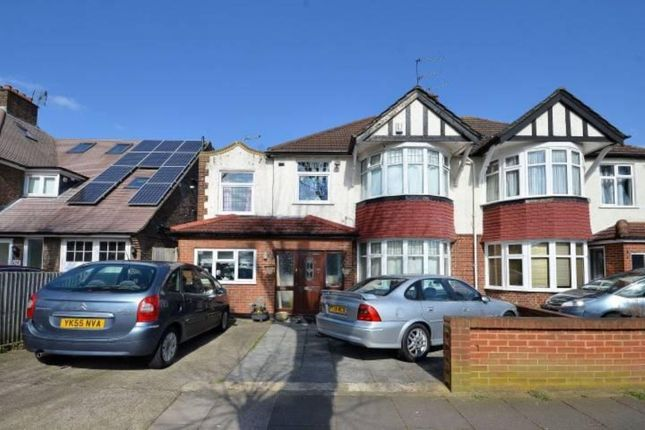 Thumbnail Semi-detached house to rent in Elgar Avenue, Berrylands, Surbiton