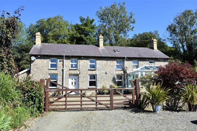 Detached house for sale in Rhydowen, Llandysul