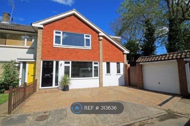 Thumbnail End terrace house to rent in Elizabeth Gardens, Sunbury-On-Thames