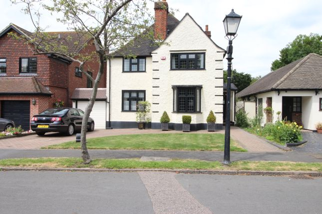 Thumbnail Detached house for sale in Risebridge Road, Gidea Park, Romford