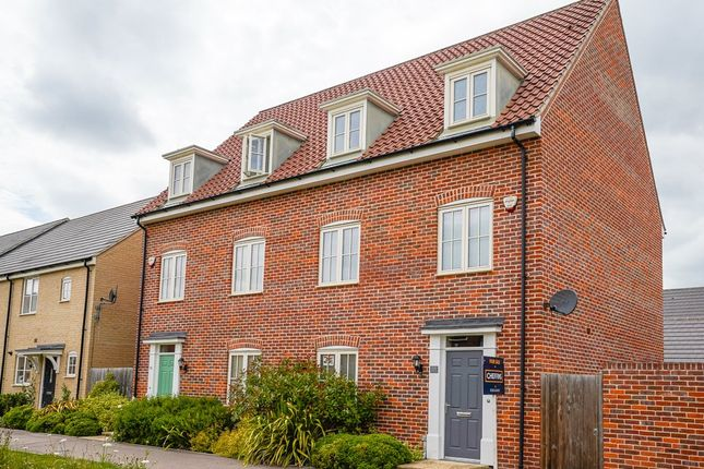 Thumbnail Town house for sale in Celandine View, Soham, Ely
