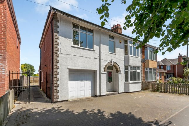 Thumbnail Semi-detached house for sale in Lower Hillmorton Road, Rugby, Warwickshire
