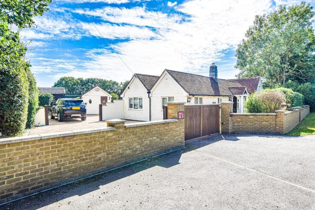 Thumbnail Detached bungalow for sale in Stortford Road, Little Canfield, Dunmow