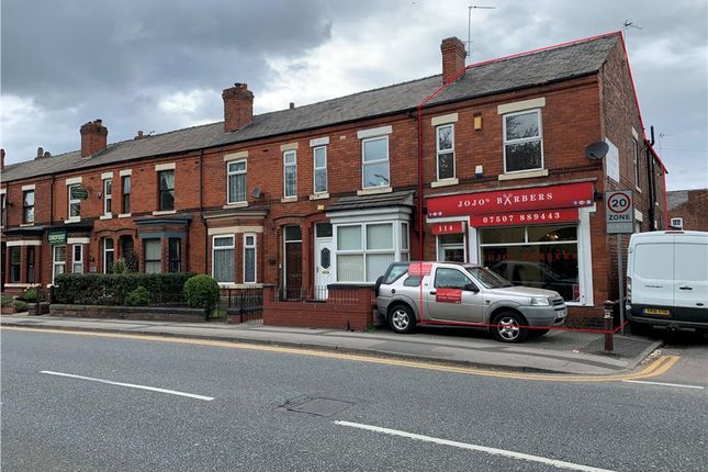 Thumbnail Retail premises for sale in 114 Manchester Road, Warrington, Cheshire