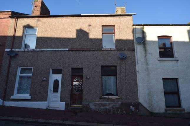 Front of Robert Street, Barrow-In-Furness LA14